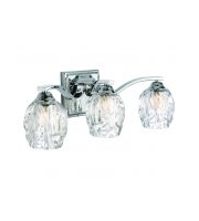 Elstead Kalli 3 Light Above Mirror Light (Polished Chrome)