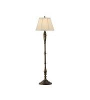 Elstead Lincolndale 1 Light Floor Lamp (Astral Bronze)