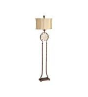 Elstead Marcella 1 Light Floor Lamp (British Bronze/Oxidized Bronze)