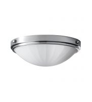 Elstead Perry 2 Light Flush Mount (Polished Chrome)