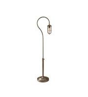 Elstead Urban Renewal 1 Light Floor Lamp (Dark Antique Brass)