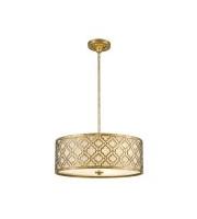 Elstead Arabella 3 Light Duo-Mount Large Pendant (Distressed Gold)
