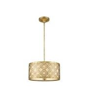 Elstead Arabella 2 Light Duo-Mount Medium Pendant (Distressed Gold)