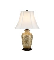Elstead Gold Thistle 1 Light Table Lamp (Gold)