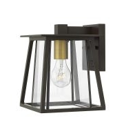 Elatead Walker 1 Light Small Wall Lantern (Heritage Bronze)