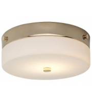Elstead Array Tamar 1 Light Medium Flush Light (Polished Gold)