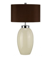 Elstead 1 Light Small Table Lamp (Cream)