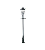 Elstead 1 Light Lamp Post Post Only (Black)