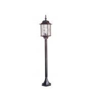 Elstead Wexford 1 Light Pillar Lantern (Black)
