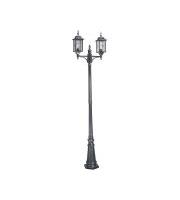 Elstead Wexford 2 Light Lamp Post (Black)