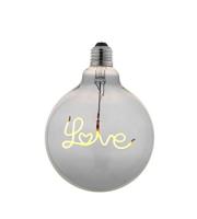 Endon Love Down E27 LED filament 120mm dia
