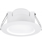 Aurora 240V 8W 60° Fixed Enfiniti Dimmable Round LED Downlight 3000K (Warm White)