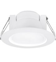 Aurora 240V 10W 60 Deg Dimmable Round Or Square Led Downlight 3000K (Warm White)