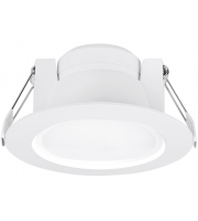 Aurora 240V 10W 60 Fixed Enfiniti Dimmable Round Or Square Led Downlight 4000K