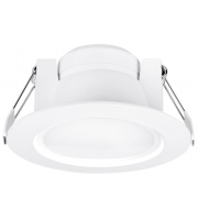Aurora 240V 8W 60 Adj. Enfiniti Dimmable Round Led Downlight 3000K (Warm White)