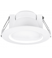 Aurora 240V 8W 60 Adj. Enfiniti Dimmable Round Led Downlight 4000K (Cool White)