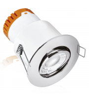 Enlite E5 Adjustable 4.5W Dimmable LED Downlight (Polished Chrome)