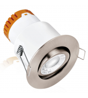 Enlite E5 Adjustable 4.5W Dimmable LED Downlight (Satin Nickel)