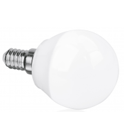 Aurora 240V E14 5W Dimmable Led Glass Golf Ball Lamp 2700K (Extra Warm White)