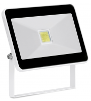 Aurora 265V 20W Adjustable IP65 Driverless Led Flood Light 6500K Black (Cool Daylight)