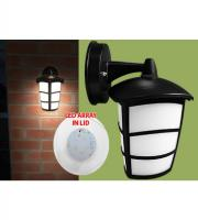Eterna 6W IP44 Outdoor LED Lantern (Black)