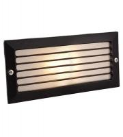 Firstlight 1121BK Brick Light with Louvre (Black)