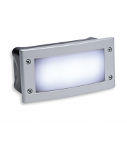 Firstlight Outdoor LED Wall/Step Light (Silver)