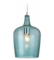 Firstlight Glass Ceiling Pendant (Aqua)