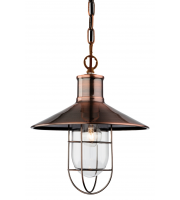 Firstlight Crescent Ceiling Pendant (Antique Copper)