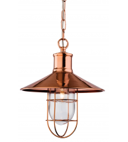 Firstlight Crescent Ceiling Pendant (Copper)