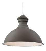 Firstlight Aztec Rough Sand Concrete Pendant (Grey)