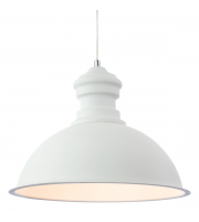 Firstlight Aztec Rough Sand Concrete Pendant (White)
