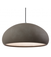 Firstlight Costa Rough Sand Concrete Pendant (Grey)