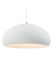 Firstlight Costa Rough Sand Concrete Pendant (White)