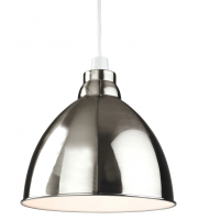 Firstlight Union Easy-fit Ceiling Pendant (Brushed Chrome)