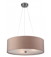 Firstlight Phoenix 3 Light Ceiling Pendant (Taupe)