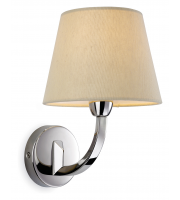 Firstlight Fairmont Single Wall Light (Stainless Steel)