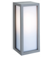 Firstlight Warwick Outdoor Wall Light (Silver)