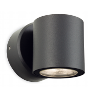 Firstlight Alaska Single LED Wall Light (Graphite)
