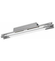 Firstlight Casa 2 x 24W Flush Ceiling Fitting (Brushed Steel)