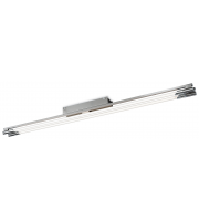 Firstlight Casa 2 x 54W Flush Ceiling Light (Brushed Steel)