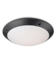 Firstlight Nevada LED Microwave Sensor Ceiling Light (Black)