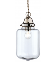 Firstlight Craft Glass Ceiling Pendant (Chrome)