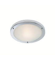 Firstlight Rondo Flush Ceiling Light (Chrome)