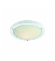 Firstlight Rondo Flush Ceiling Light (White)