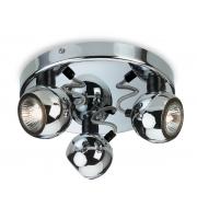 Firstlight Magnetic 3 Light Flush Spotlight (Chrome)