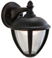 Firstlight Unite Outdoor LED Lantern Downlight (Black)