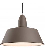 Firstlight 3404CN Riva Ceiling Pendant In Concrete Diameter: 350mm (Concrete)