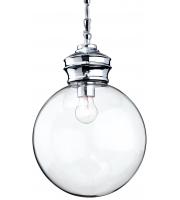 Firstlight Omar Glass Ceiling Pendant (Clear) SALE ITEM