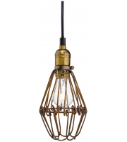 Firstlight Arcade Ceiling Pendant (Rustic Brown)
